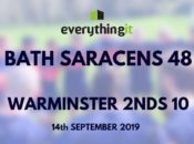 Bath Saracens 48 Warminster 2nds 10 1