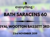 Bath Saracens 60 Royal Wootton Bassett 3rds 5